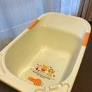 交渉中【出産準備品】沐浴用ベビーバス&湯温計セット プーさん おま...