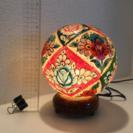 和モダンな優しい灯り☆アジアンチック白熱電気スタンド