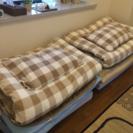 マットレス、布団、布団カバー、枕、枕カバー等一式