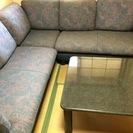 コーナーソファー  テーブルセット