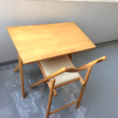 値下げ♩︎ 無印 デスク 机 折りたたみ 天然木 無印良品 テーブル