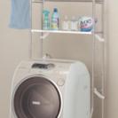 [値下げ] ニトリ ステインレス洗濯機ラック