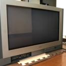 28型ワイドブラウン管テレビ+地デジチューナー