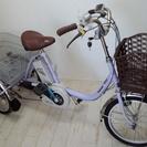 Panasonic 電動アシスト三輪自転車