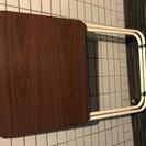 折りたたみ式 小型テーブル (48x38x65cm)