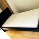 【取引完了】IKEA セミダブルベッド マットレスセット HAFS...