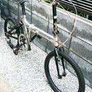 ジャンク 折り畳み自転車 自転車治せる方のみ❗