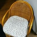 籐製品2・籐回転椅子