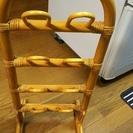 籐製品3・籐スリッパラック