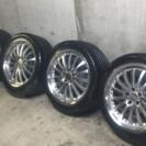 【最終値下!】19インチ アルミ タイヤセット メルセデスベンツ