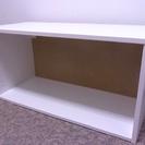 IKEA ウォールキャビネット(ホワイト)扉なし EFFEKTIV...