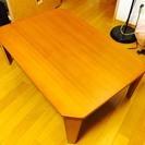 木製ローテーブル!(ニトリ)