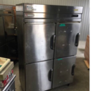 フクシマ 業務用冷凍庫 EXN-42PMTA2 冷蔵2室 冷凍2室 中古