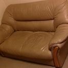 2002年購入品ベージュの2人掛けソファ