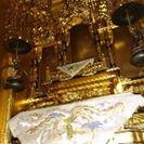 金箔貼りの、仏壇です。