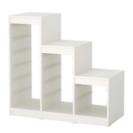 IKEA トロファスト ホワイト 階段タイプ