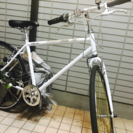 美品クロスバイク  2回の使用のみ
