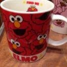 エルモとモッピーペアマグカップ