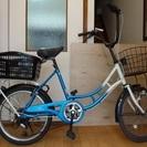 大人用20インチの自転車譲ります。※弁天町駅手渡しのみ