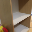2段カラーボックス ホワイト