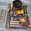 LGA775マザーボード ASUS P5Q(CPU Core2Qu...
