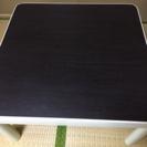 90×90 白×黒テーブル
