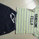 babygap  BOYS Tシャツ&パンツ 80 2点セット ¥500