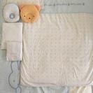 【シーツ・枕を追加】赤ちゃんの冬掛け布団・合い掛け布団・枕・ボック...