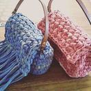 上永谷7月★ズパゲッティ等でバックを編みましょう かぎ編み 編み物
