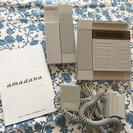 amadana アマダナ コードレス電話機+固定電話セット PT-...