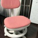 ピンク色が可愛い学習椅子(#^.^#)
