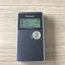 パナソニック ラジオ FMAMワンセグTV対応