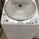 洗濯機 乾燥機付き ES-TS810 SHARPプラズマクラスター...