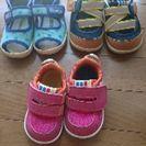 子供の靴とサンダル 12.5センチ 14.0センチ