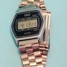 送料無料(e9)電池交換済 シチズンQQ デジタル腕時計USED