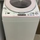 洗濯機 ES-TX830 SHARP 2013年製 風呂水ポンプ付...