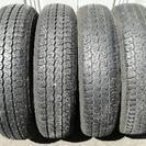155/80R13 ファルケン夏タイヤとグッドイヤー冬タイヤまとめ売り