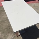 業務用テーブル 白 ❶
