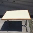 業務用テーブル 白 4台まとめ売り