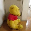 プーさんのぬいぐるみ (中) - おもちゃ
