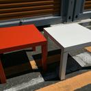 週末限定 2つで1500円 色違いテーブル