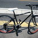 26インチ クロスバイク 黒 変速