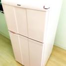 ピンク 2011年 2ドア冷蔵庫 98L 板橋区の画像