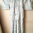 【郵送のみ】涼しげな水色の着物【送料無料】