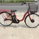 新車☆大特価☆電動アシスト自転車26インチ 6AH レッド