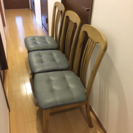 ダイニングチェア 椅子 3つで1000円!