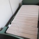 幼児から大人までサイズ調整できるベッド