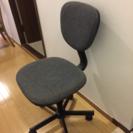 回転椅子 オフィスチェア グレー
