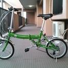 アルミ製16インチ折りたたみ自転車(FIAT AL-FDB166)...