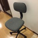 高さ調整にコツ必要!回転椅子 オフィスチェア グレー